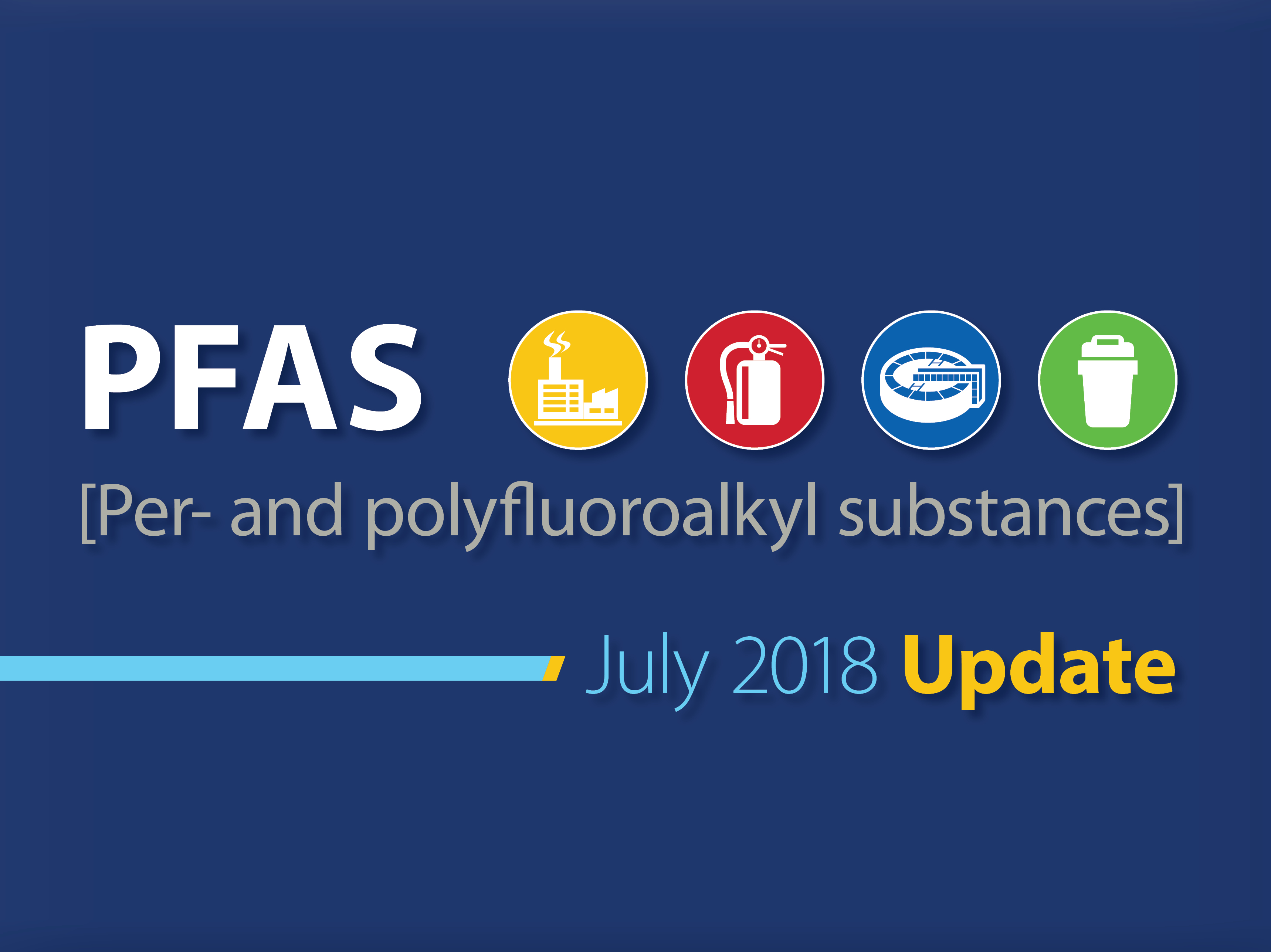 Groundwater & Environmental Services, Inc. PFAS Update July 2018
