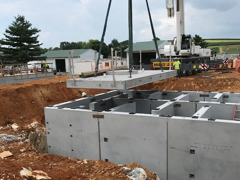 Water Treatment Plant Tank Construction