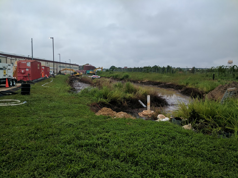 Remediation of stormwater management system