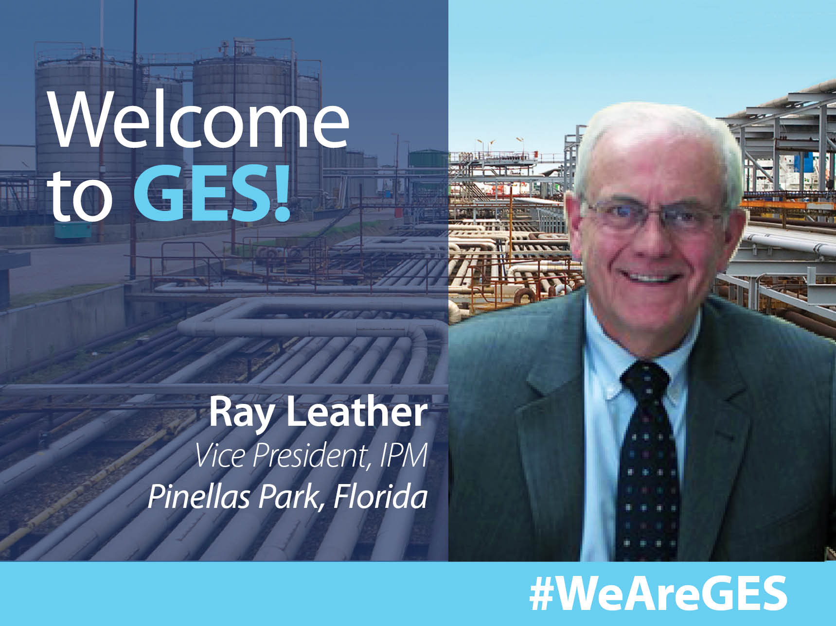 Ray Leather, Welcome